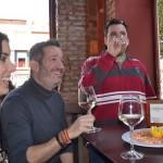 El langostino andante comenzó ayer en el bar La Viña, entre otros establecimientos