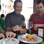 Se podrán degustar raciones de langostinos juntos a los vinos del Grupo Baco